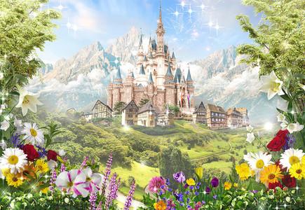чудесный замок 01245D