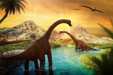 3D Fantasy with dinosaur 00739