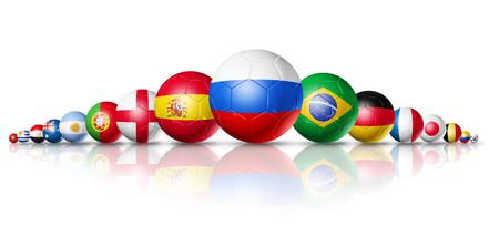 3D soccer balls 00850