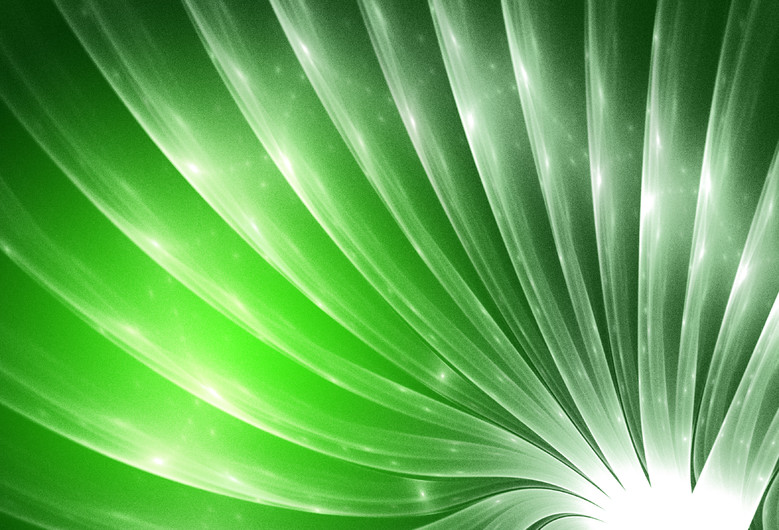 Abstract Green and white 00859