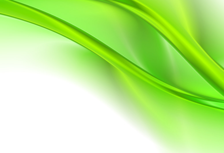 Abstract green waves 00391
