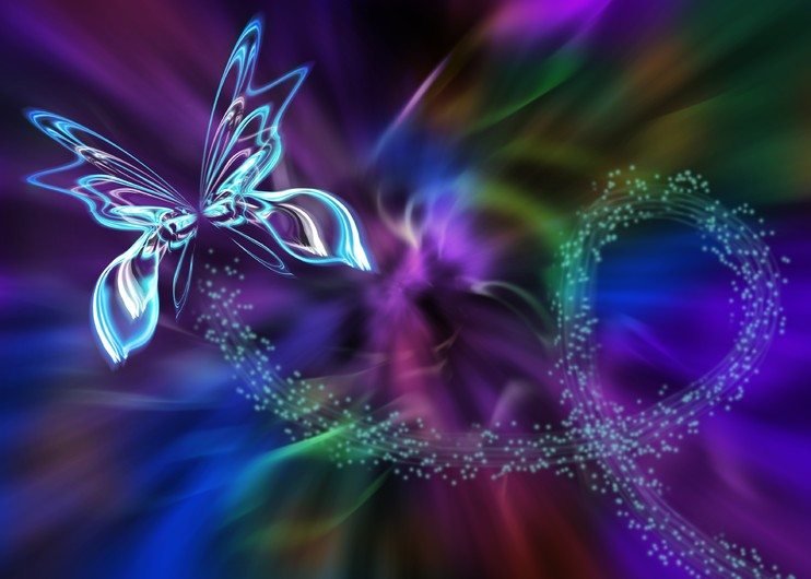 Abstraction butterfly 00070