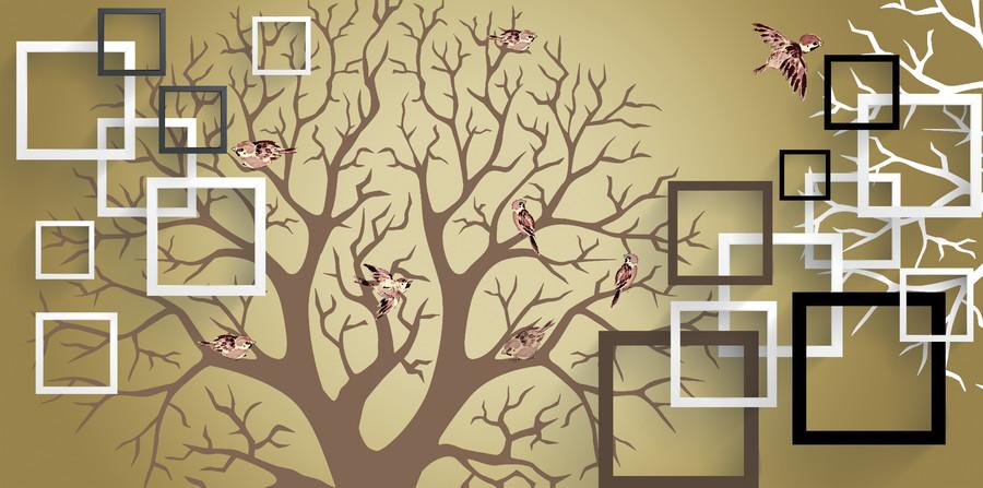 абстрактное дерево 01138