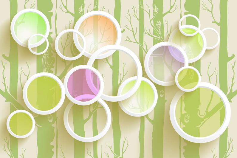 абстрактные круги 01115