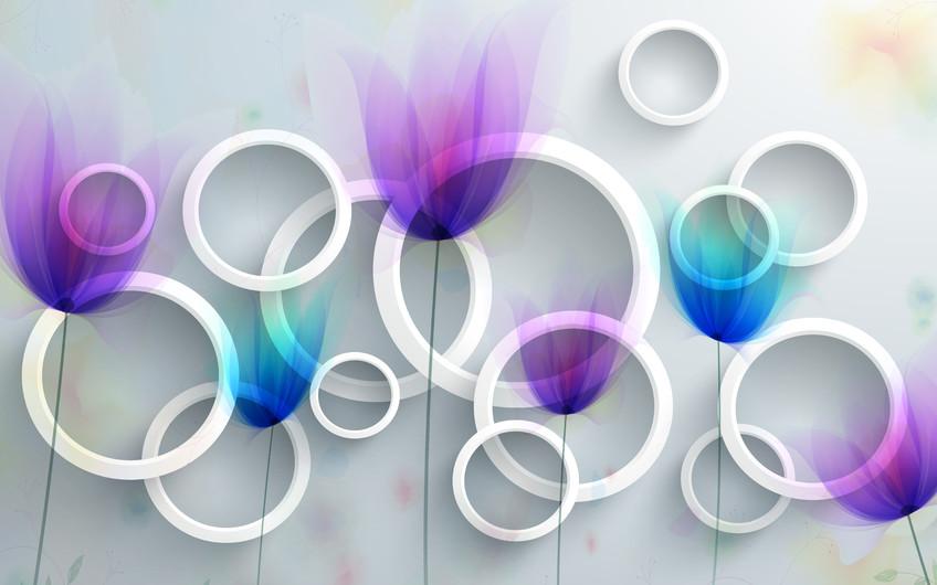 абстрактные круги 01129