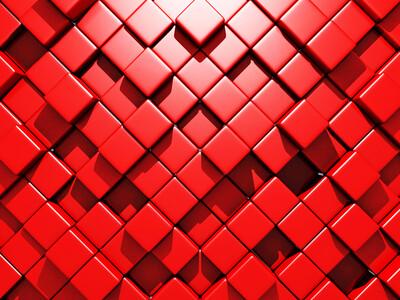 Абстрактные кубы 01438