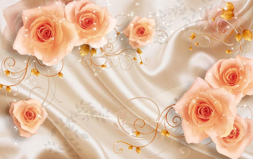 Абстрактные цветы 01308