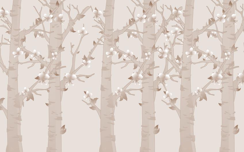 абстрактный лес 01075