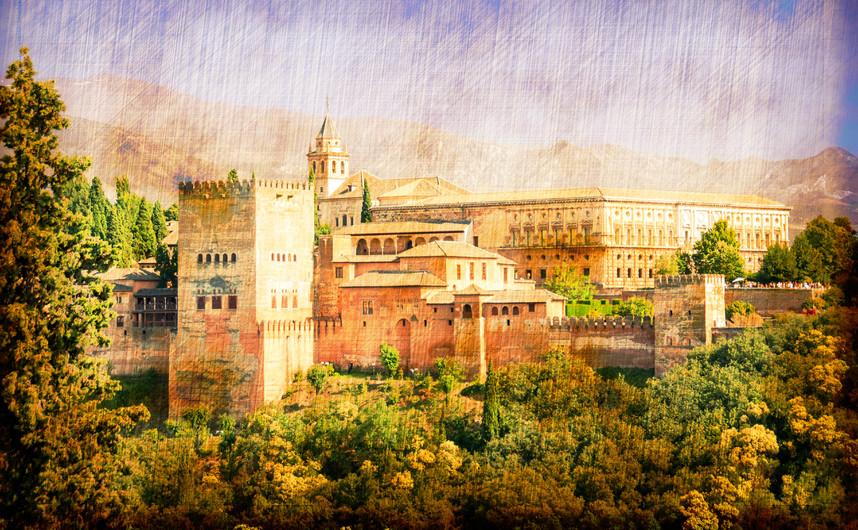 Alhambra palace, Spain 00946