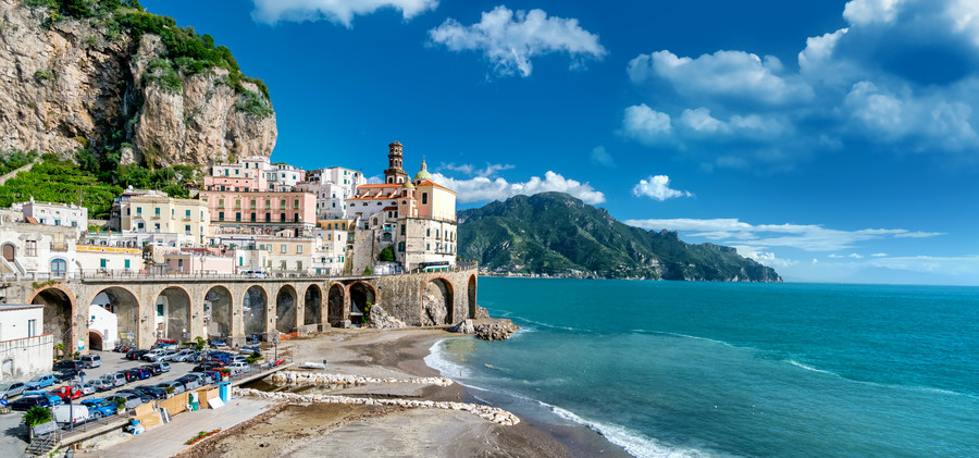 Amalfi coast in Italy 00201
