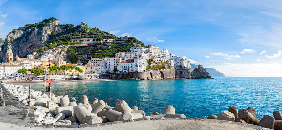 Amalfi coast in Italy 00202
