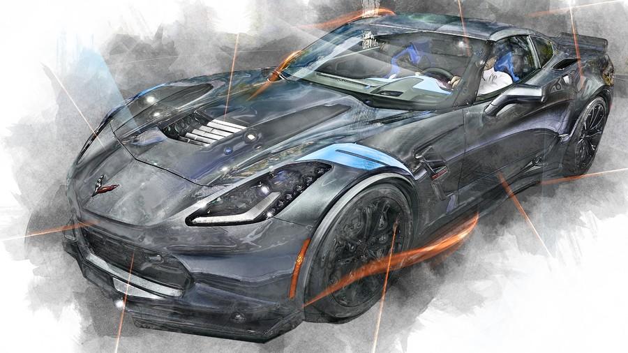 Art  Corvette 00765