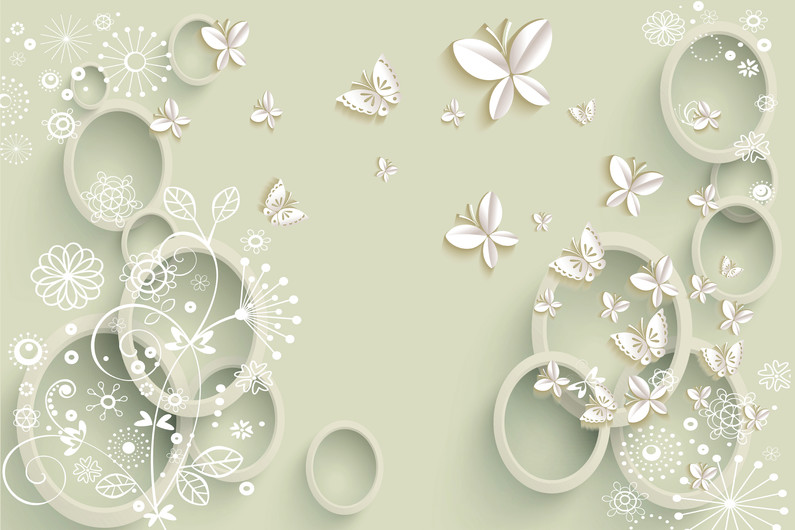 background with circles 01024