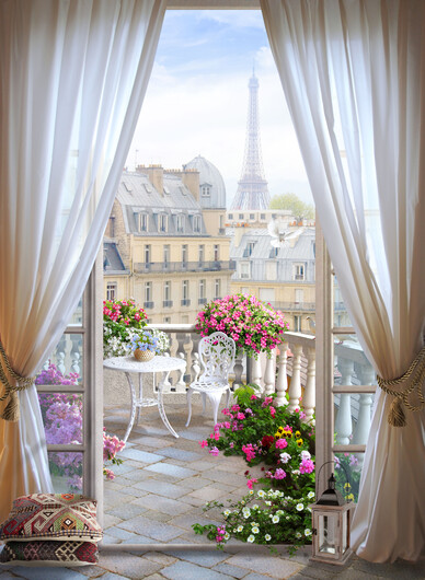 Балкон 01528