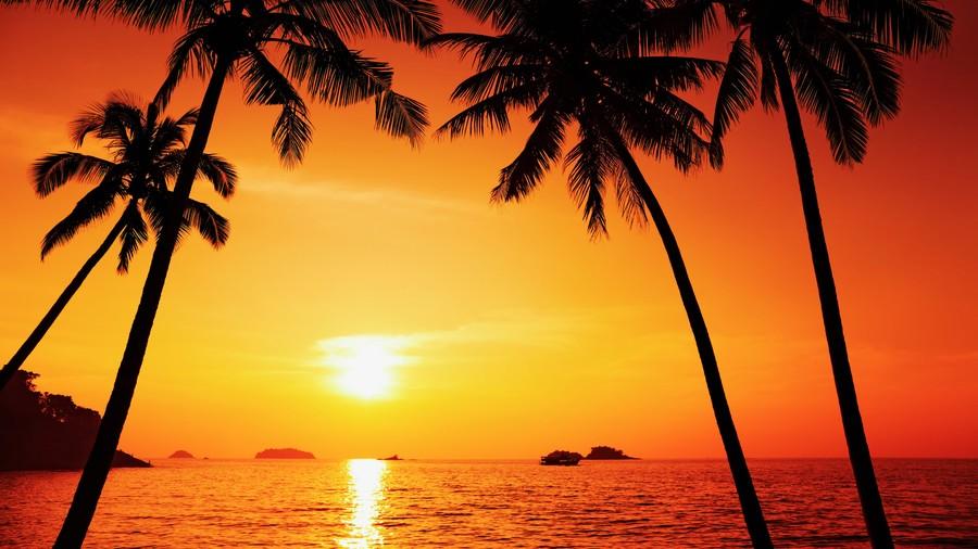 Beach Sunrise 00017VG