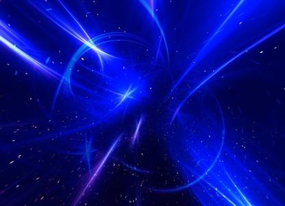 Blue galaxy 00503