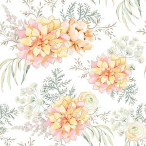 Blush pink bouquets 00234