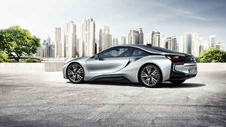 BMW in the city 00769