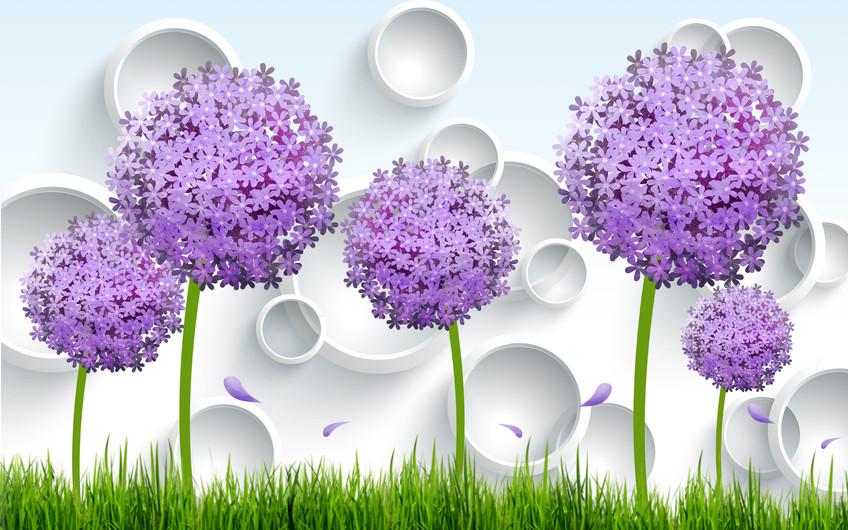 большие цветы 01218