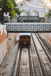 Budapest funicular to Buda castle 00976