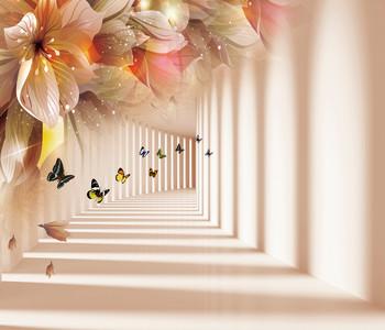 butterflies in the tunnel 01022