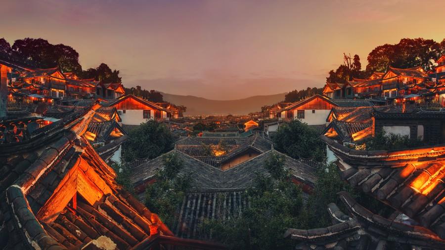 Chinese village 00022VG