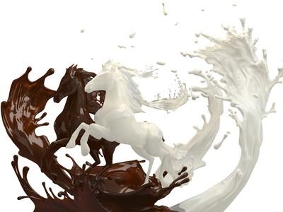 Сhocolate horse 00246