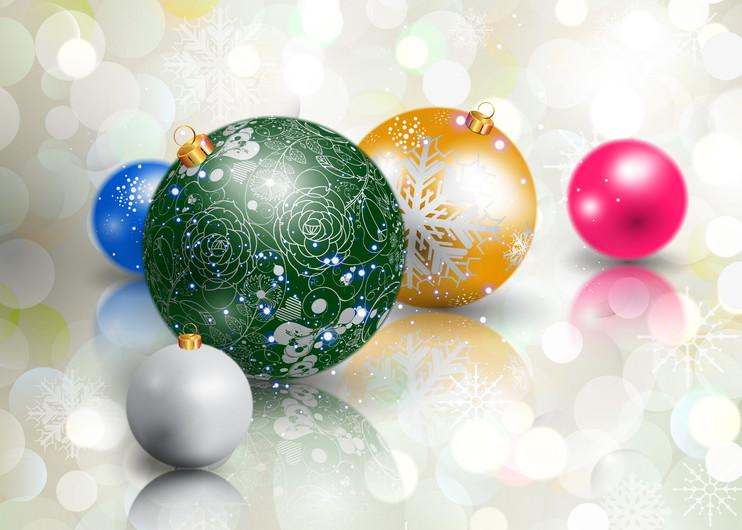 Christmas balls 00243