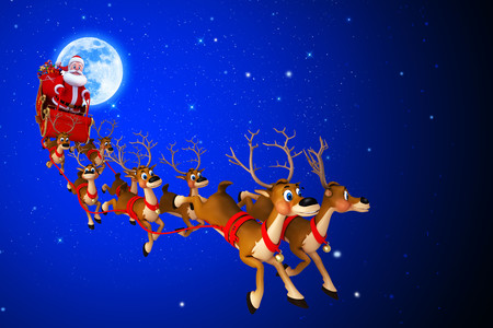 Christmas deer 00247