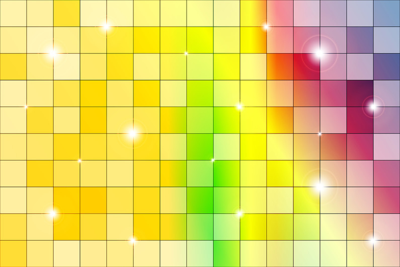 Color mosaic of bright colorful 00362