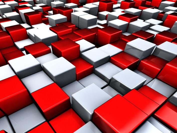 Cubes city 00381