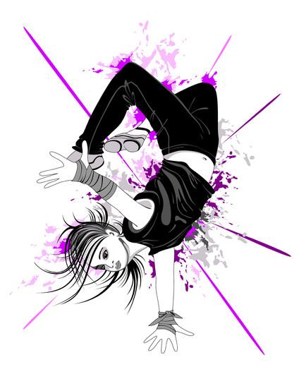 Dancing boy 00919