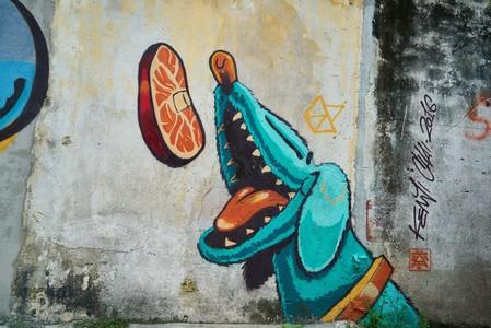 dog graffiti 00157