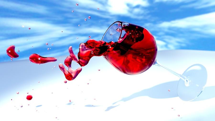 Drop of wine 00705