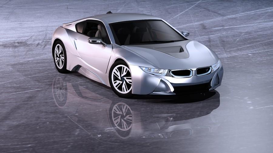 Electric car i8 00767