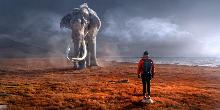 Fantasy mammoth 00513