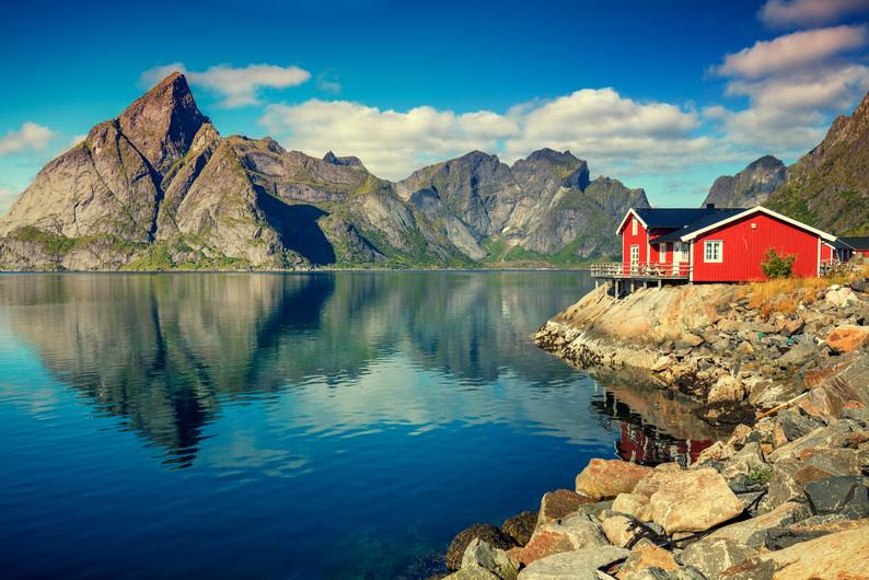 Fishing village Norway 00731