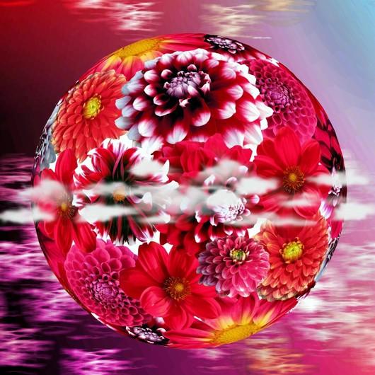 Flower ball 00144