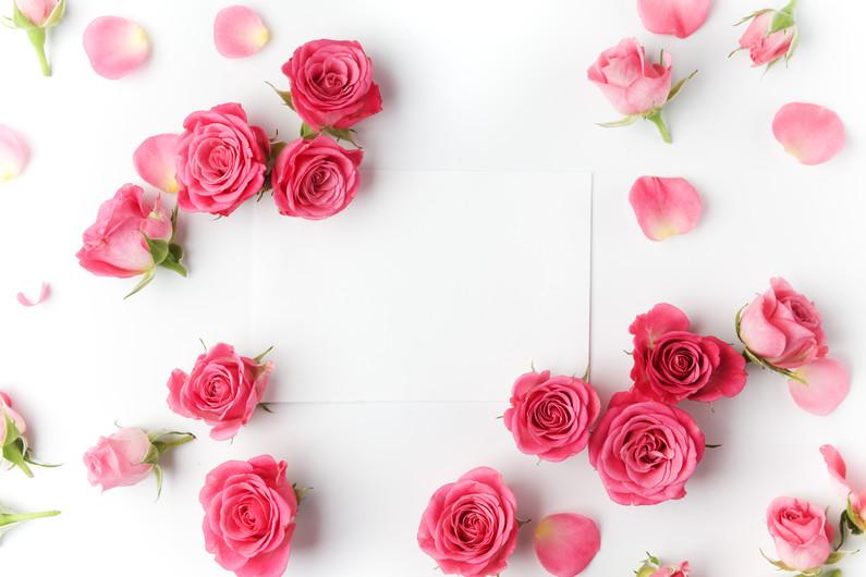 Framework from roses 00228