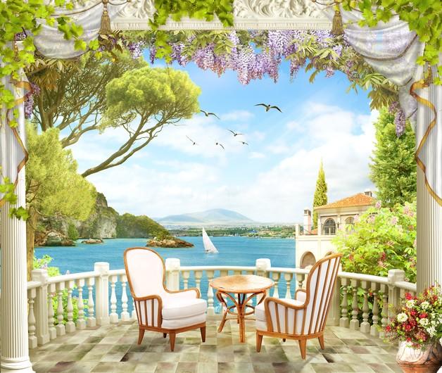 Fresco. Sea view 00724