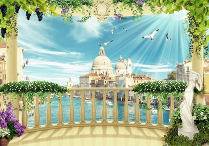 Fresco. Venice 00728