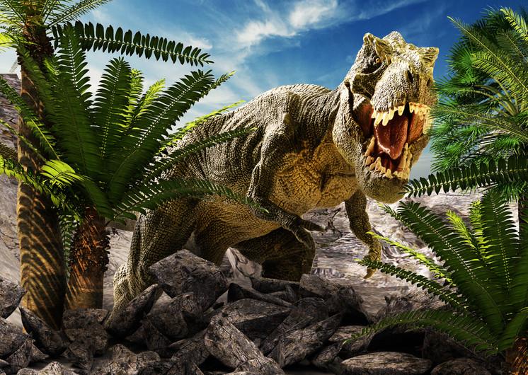 Giant dinosaur 3D 00738