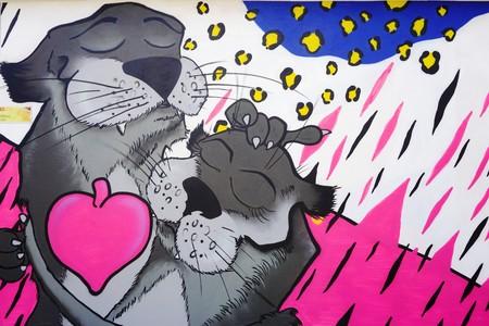 Graffiti Pink Panther 00982