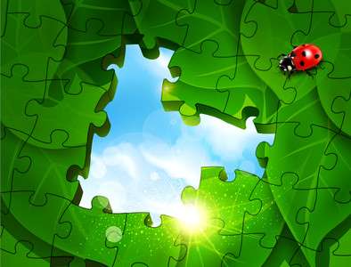 Green puzzles 01000
