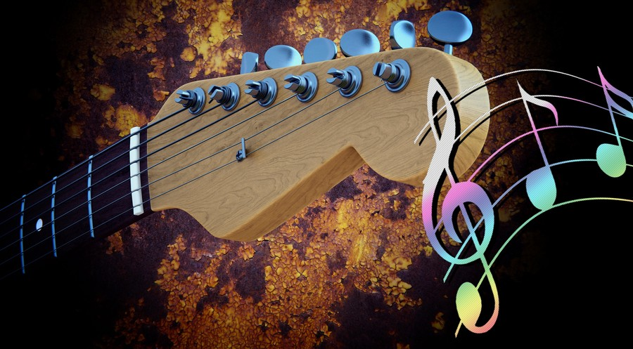 Guitar music 00528