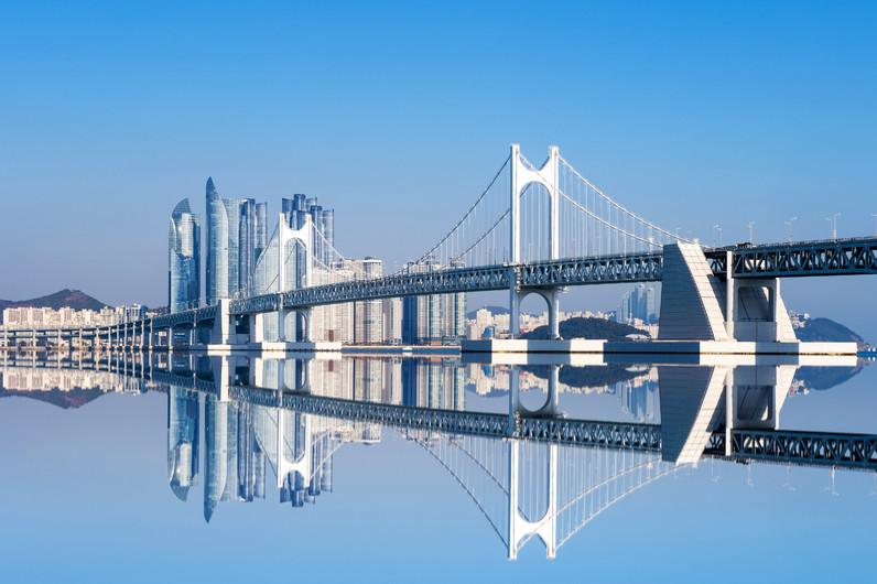 Gwangan bridge, Haeundae 00972