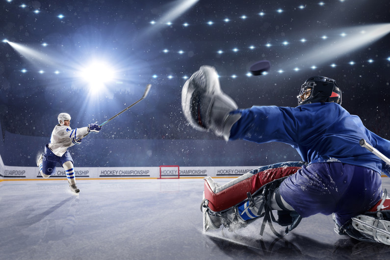Hockey goalkeeper 00114VG