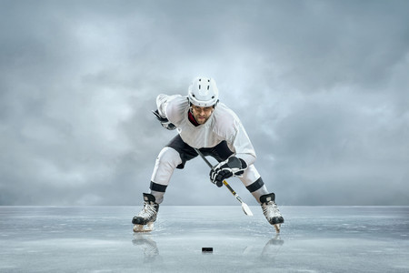 Hockey player 00107VG