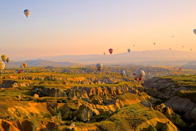 Hot air ballons 00088VG