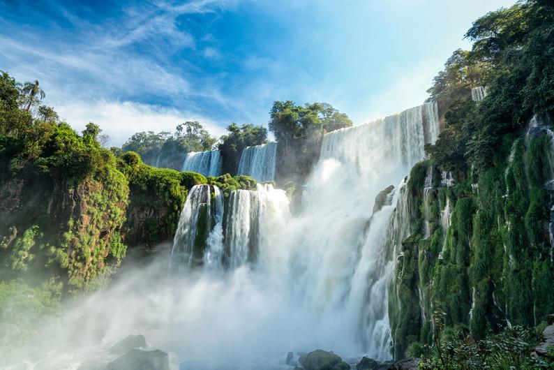 Iguazu falls, 7 wonder of the world in - Argentina 00292